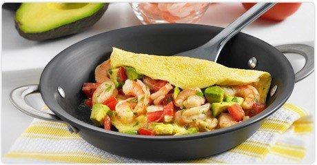 Prawn & Avocado Omelette
