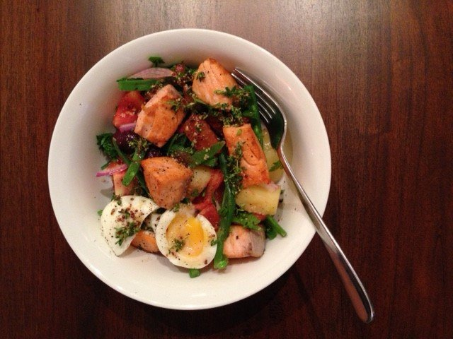 Nicoise Salad with Tasmanian Atlantic Salmon